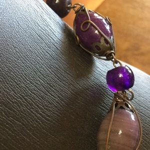Jewelry - Cabochon Amethyst Necklace